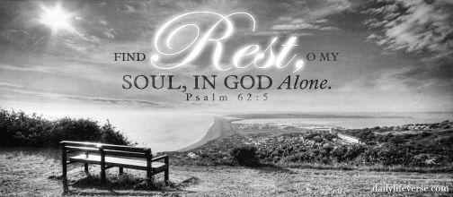rest in Him - blk wyte