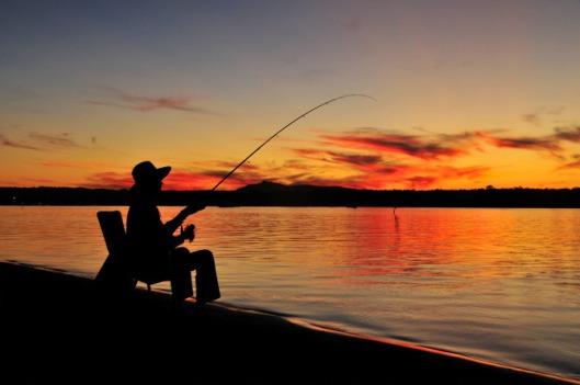 Sunset-Fisherman
