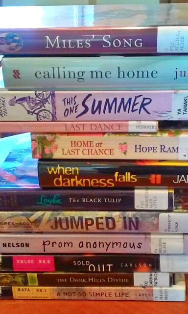 Book Spine Poetry [1]