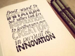 Imitation-isnt-Innovation